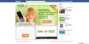 Interface for FaceBook app