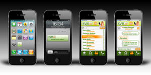 iPhone app design for a client