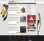 Web presentation for a client