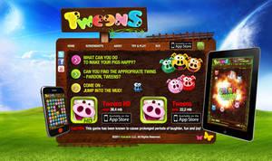 Tweens Game AppStore iOS Web Site by djnick2k