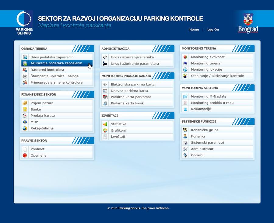 Web Application design for Parking Service by djnick2k on DeviantArt