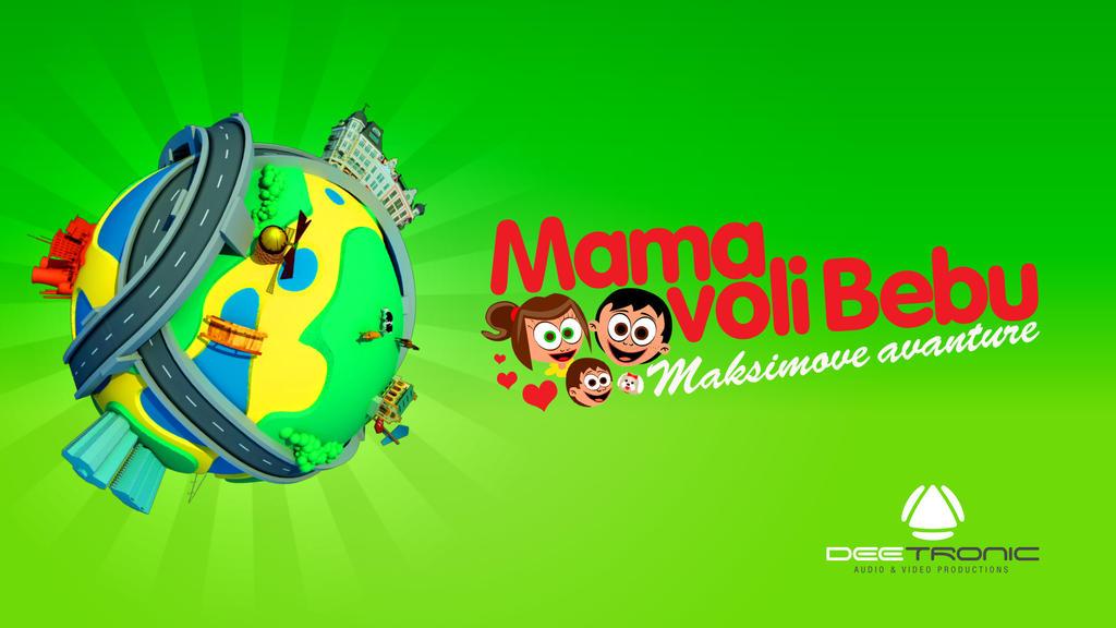 Mama voli Bebu Cartoon INTRO - Maxim's Adventures by djnick2k