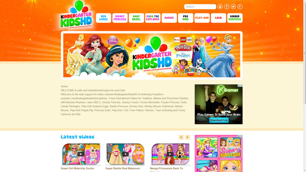 New KindergartenKidsHD.com site by djnick2k
