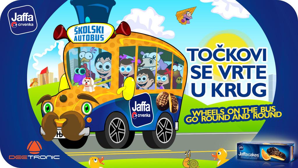Tockovi Autobusa / Wheels On The Bus Go Round 2015 by djnick2k