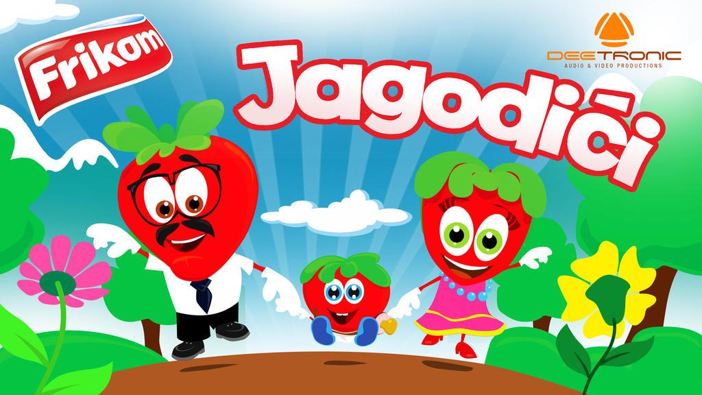 Jagodici / The Strawberries by Deetronic + Frikom by djnick2k