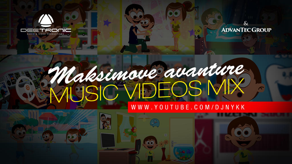 Maksimove Avanture Music Videos Mix 2017 by djnick2k