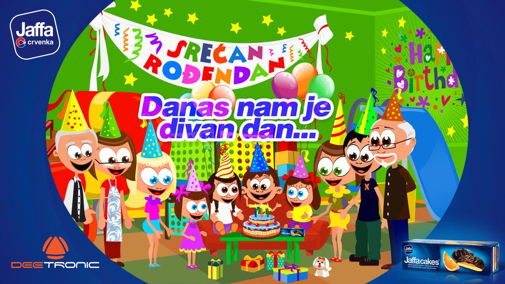 Danas Nam Je Divan Dan - Happy Birthday Video Song by djnick2k