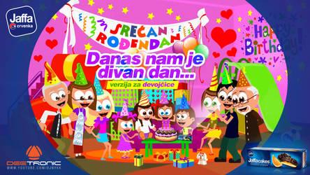 Srecan Rodjendan DEVOJCICE Happy Birthday 4 GIRLS