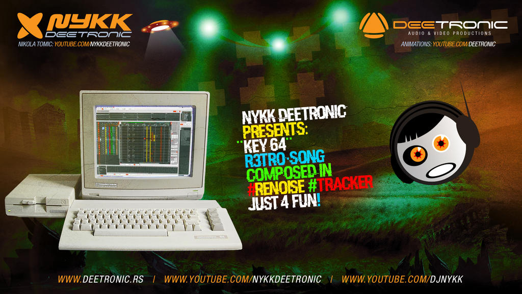 Key 64 - C64-like Song #Renoise by Nykk Deetronic by djnick2k