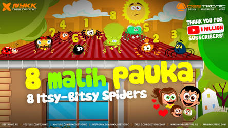 1 MALI PAUK - ITSY BITSY SPIDER FINAL 2018 DJNykk