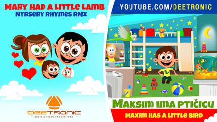 Maksim ima pticicu - Marry Had a Little Lamb RMX