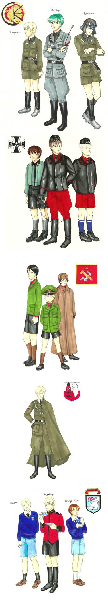 Boys und Panzer by Yukow