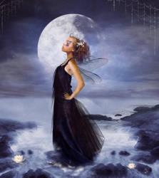 blue moon by JenaDellaGrottaglia