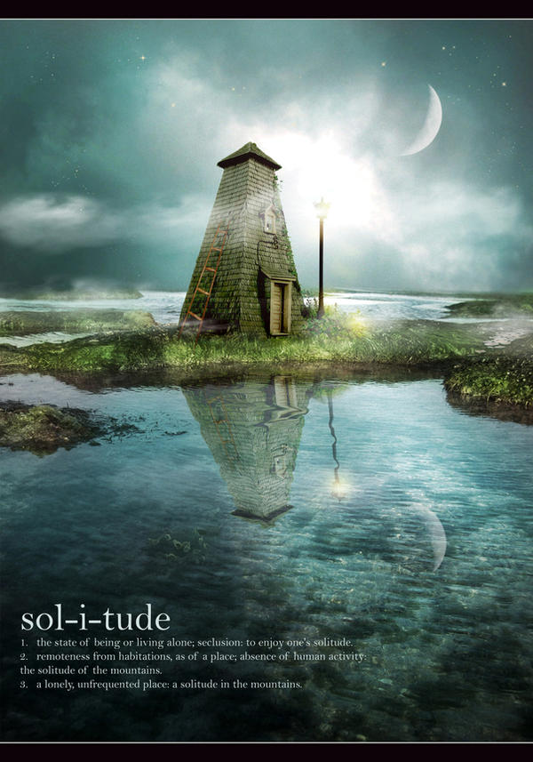 solitude by JenaDellaGrottaglia