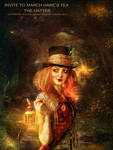 invite to march hare's hatter