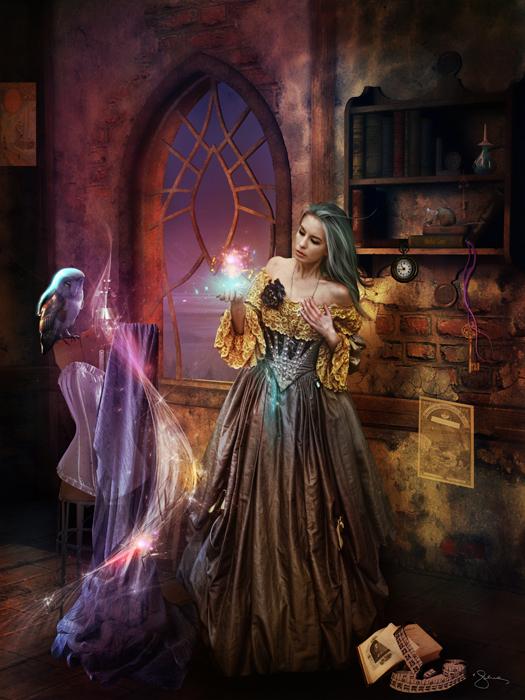 Enchanted Seamstress by JenaDellaGrottaglia