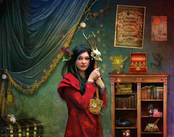 Curious Curator by JenaDellaGrottaglia