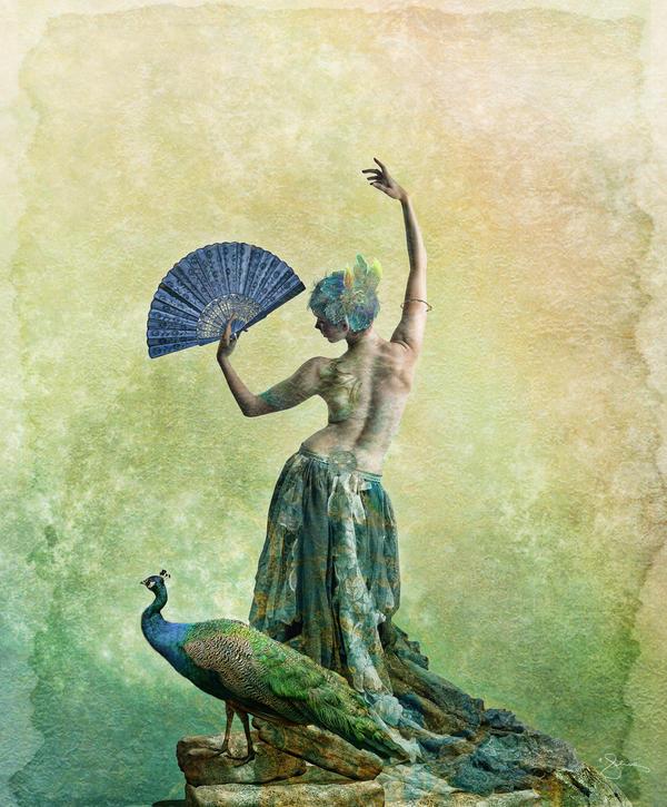Peacock Dance by JenaDellaGrottaglia