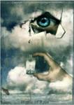 Bottle of Rain by JenaDellaGrottaglia