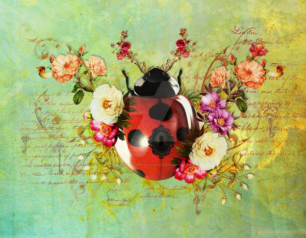 Lady Bug Luck by JenaDellaGrottaglia