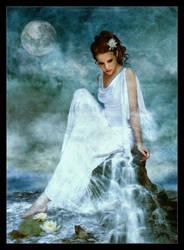 Elemental Goddess Water by JenaDellaGrottaglia