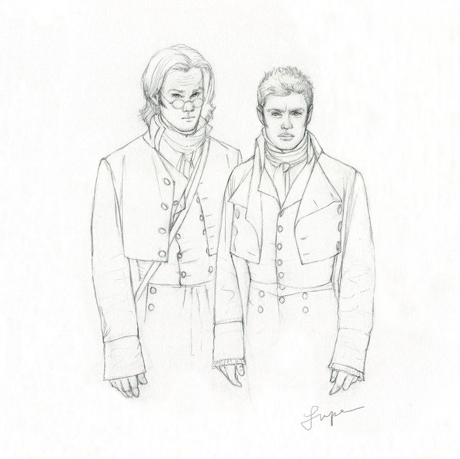 Winchesters as the Brothers Grimm by Lupe-lei