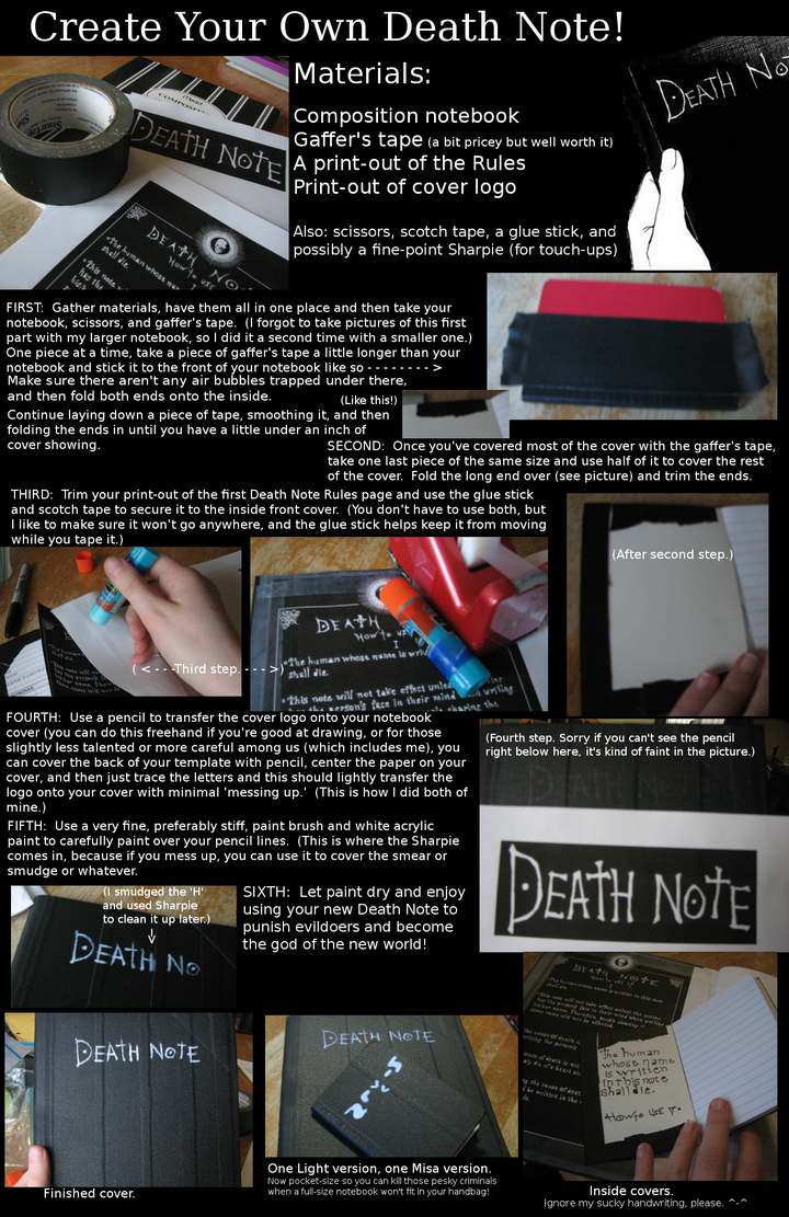 Death note tutorial by tronlives on deviantart death note tutorial by tronlives baditri Choice Image
