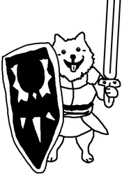 lesser dog by Koloszrodos