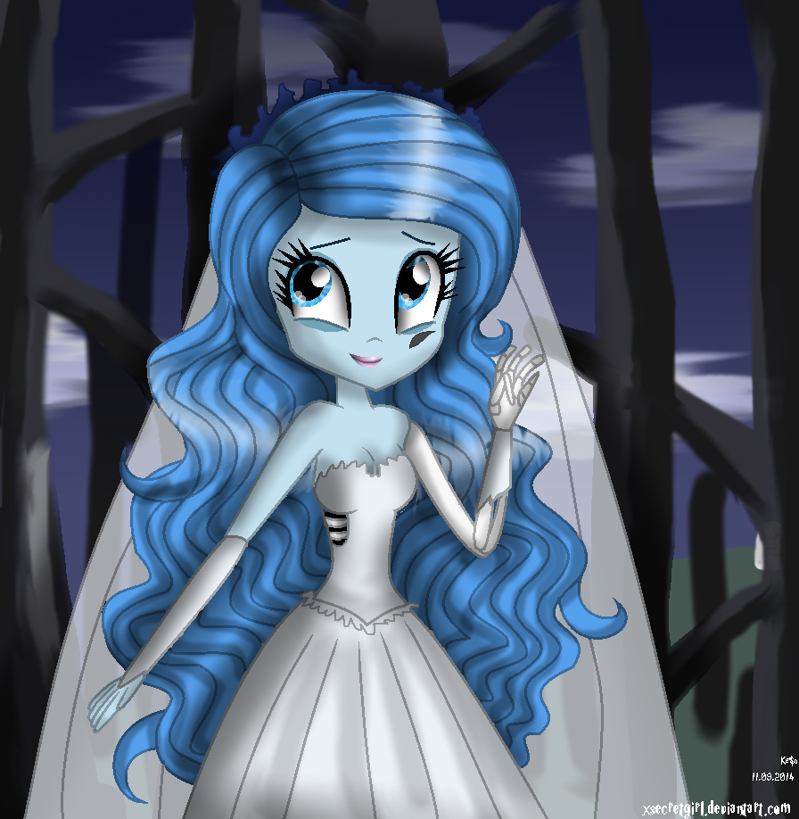 Emily ~ The Corpse Bride by Xsecretgirl on DeviantArt