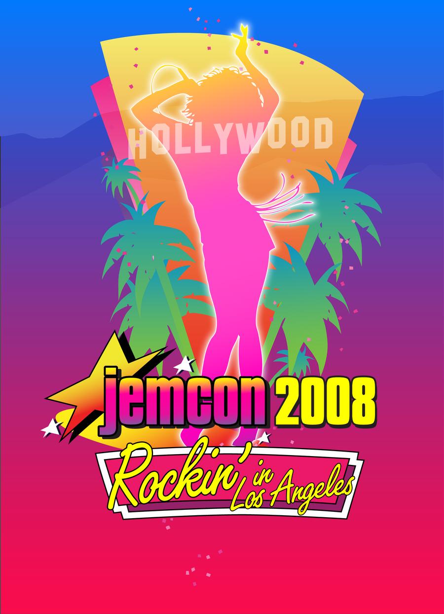 JemCon 2008 poster - 2nd draft by TaraLJC