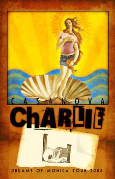 Casanova Charlie tour poster