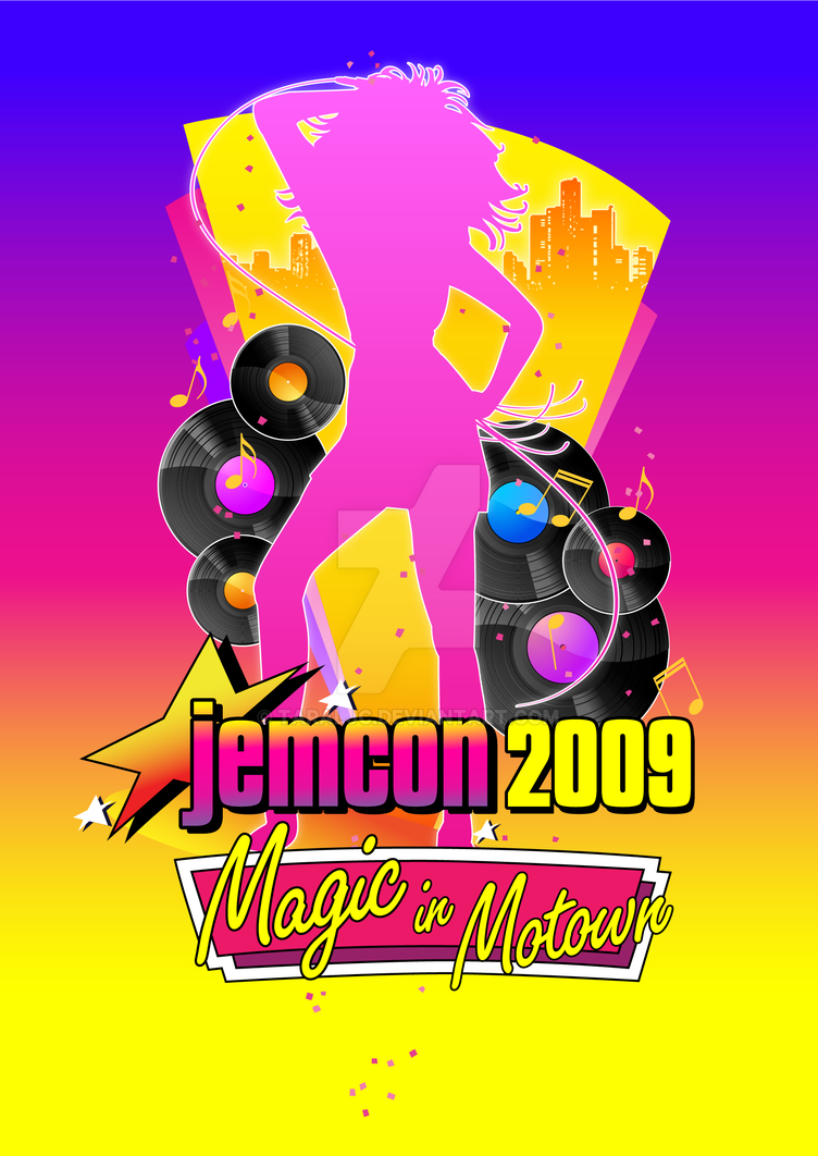 JemCon 2009 poster - final by TaraLJC