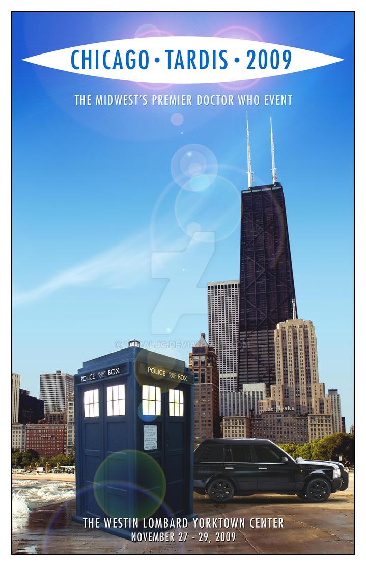 Chicago TARDIS cover mk2 by TaraLJC