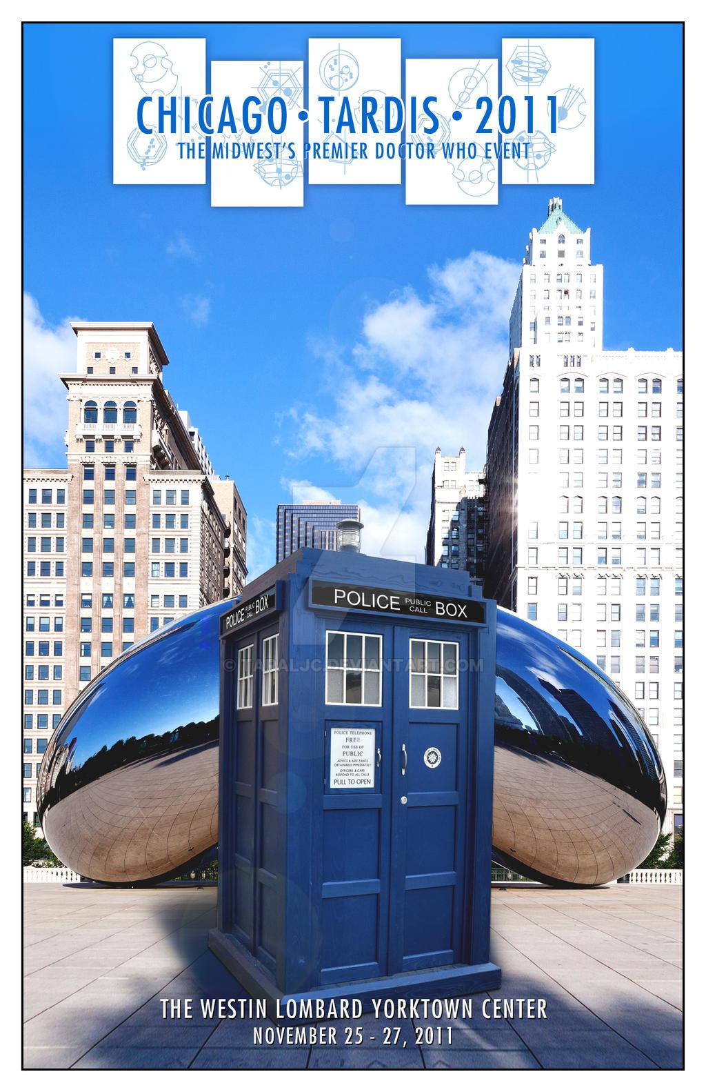 Chicago TARDIS 2011 cover by TaraLJC