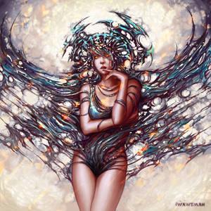 Sky, Heavenly Mistress by wawtman