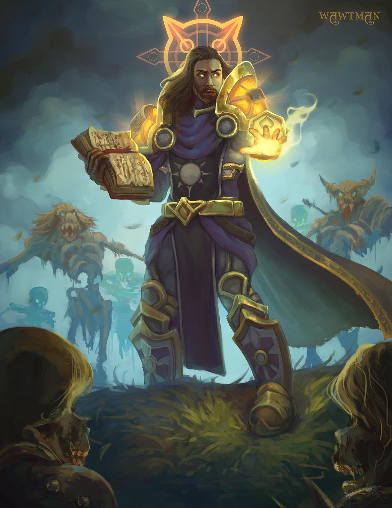 Xander, the Holy Paladin