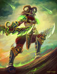 Jaeana, the Demon Hunter