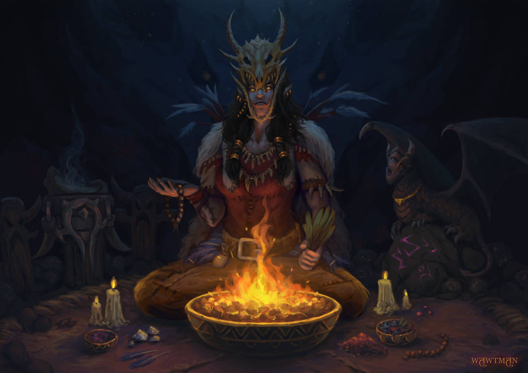 Shamanism of the Dragonmaw