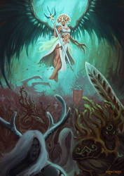 The Sylvaneth by wawtman