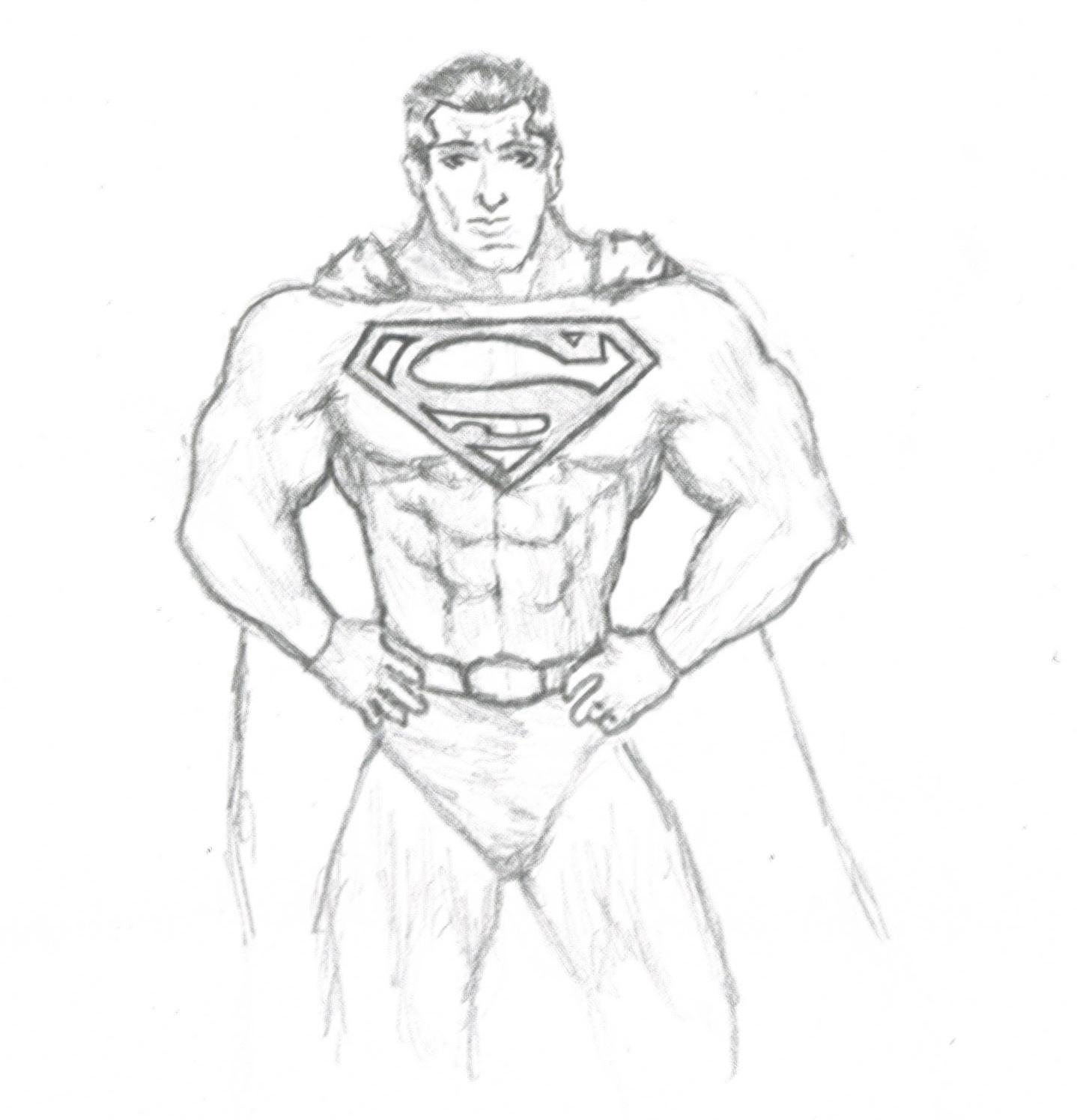 easy superman drawings -#main