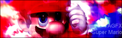 Super Mario Signature by Austin-GFX