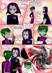 Child Of Burning Time - Page 8 by pizet