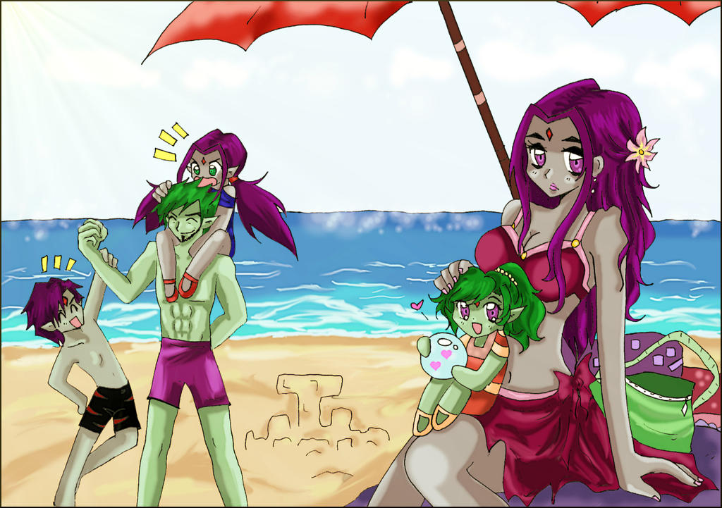 Beachtime - BBRae Family by pizet
