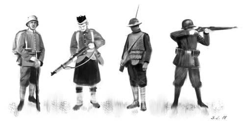 Soldier Study by Kogane801