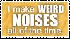 Weird Noises by Sardiini