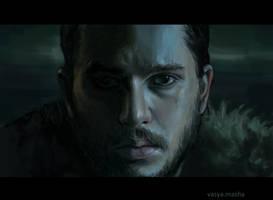 Jon Snow by Vasya-Masha