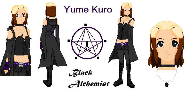 FullMetal Alchemist Brotherhood OC(Yume Kuro) By