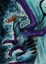 ACEO - Fly away by SuzanneLaither