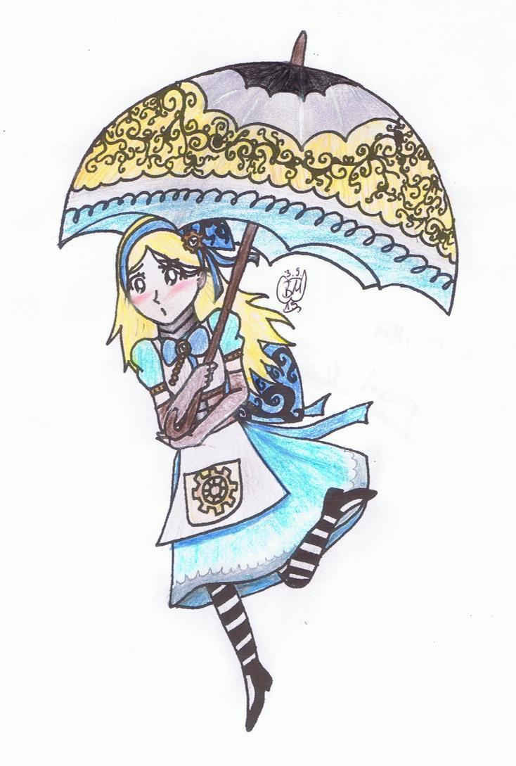 Alice in Steampunkland by DarkBabsi