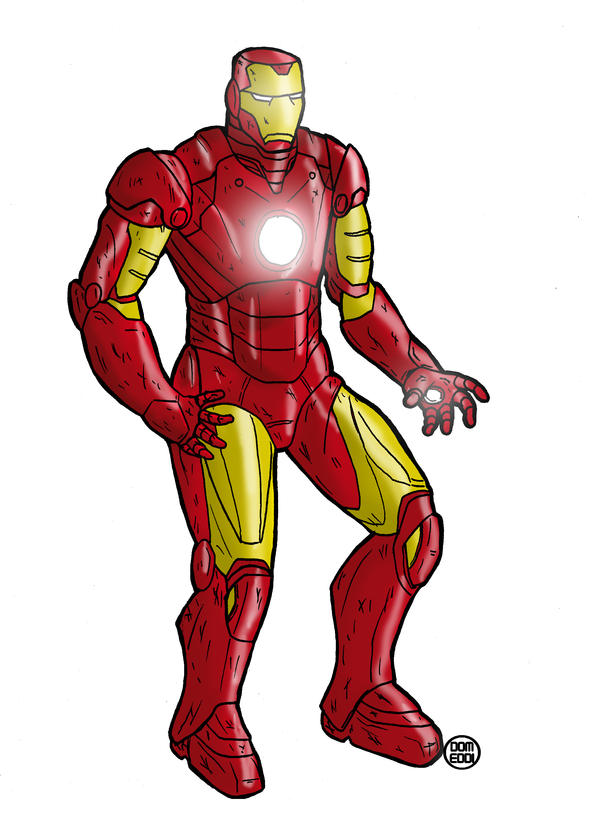 ironman color by domeddi
